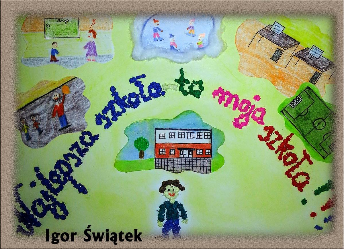Konkurs Na Plakat Promujący Szkołę Szkoła Podstawowa Nr 1